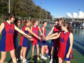 Senior Girls Netball Team 2013